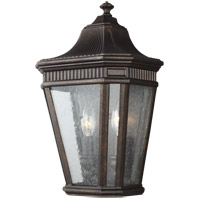 Cotswold Lane 16 inch Grecian Bronze Outdoor Wall Lantern