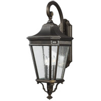 Feiss OL5424GBZ Cotswold Lane 30 inch Grecian Bronze Outdoor Wall Lantern