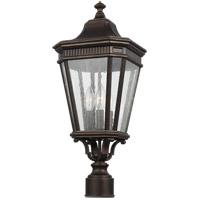 Feiss OL5427GBZ Cotswold Lane 22 inch Grecian Bronze Post Lantern