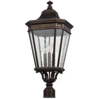 Feiss OL5428GBZ Cotswold Lane 27 inch Grecian Bronze Post Lantern