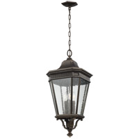 Cotswold Lane 12 inch Grecian Bronze Outdoor Hanging Lantern