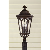 Feiss Regent Court 3 Light Post Lantern in Walnut OL5607WAL