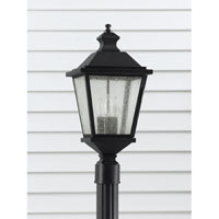 Feiss Woodside Hills 3 Light Post Lantern in Black OL5707BK