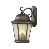 Feiss Martinsville 4 Light Outdoor Wall Sconce in Corinthian Bronze OL5904CB