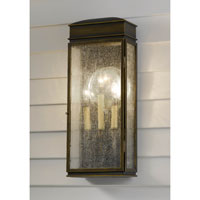 Feiss Whitaker 3 Light Outdoor Wall Bracket in Astral Bronze OL7402ASTB photo thumbnail