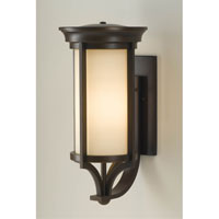 Feiss Merrill 1 Light Outdoor Wall Bracket in Heritage Bronze OL7504HTBZ