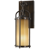 Feiss Dakota 1 Light Outdoor Wall Bracket in Heritage Bronze OL7600HTBZ