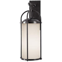 Feiss Dakota 1 Light Outdoor Wall Sconce in Espresso OL7602ES
