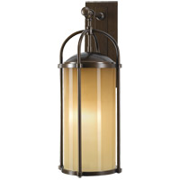 Feiss Dakota 1 Light Outdoor Wall Bracket in Heritage Bronze OL7602HTBZ