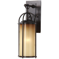 Feiss Dakota 1 Light Outdoor Wall Sconce in Heritage Bronze OL7604HTBZ photo thumbnail