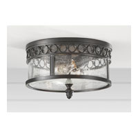 Feiss Chancellor 2 Light Outdoor Flush Mount in Black Sable OL7813BSB alternative photo thumbnail