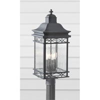 Feiss Liberty 4 Light Post Lantern in Fog OL8008FOG