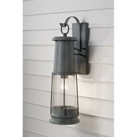 Feiss OL8102STC Chelsea Harbor 1 Light 24 inch Storm Cloud Outdoor Wall Sconce in Standard  alternative photo thumbnail