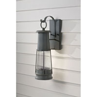 Feiss Chelsea Harbor 1 Light Outdoor Wall Sconce in Storm Cloud OL8201STC