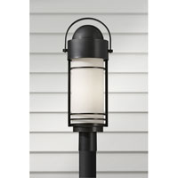 Feiss Carbondale 1 Light Post Lantern in Dark Chocolate OL8308DRC