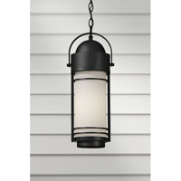 Feiss Carbondale 1 Light Outdoor Hanging Lantern in Dark Chocolate OL8311DRC