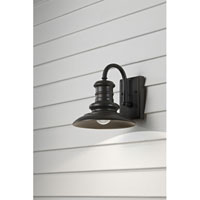 Redding Station 1 Light 10 inch Restoration Bronze Outdoor Wall Sconce in Standard