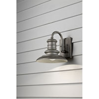 Redding Station 1 Light 10 inch Tarnished Outdoor Wall Sconce in Standard