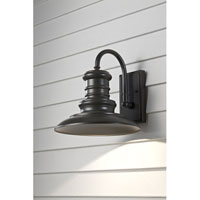 Redding Station 1 Light 13 inch Restoration Bronze Outdoor Wall Sconce in Standard