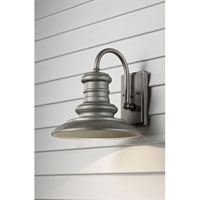 Redding Station 1 Light 13 inch Tarnished Outdoor Wall Sconce in Standard