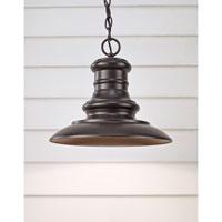 Feiss OL8904RSZ-L1 Redding Station LED 12 inch Restoration Bronze Outdoor Pendant