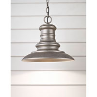 Feiss OL8904TRD-L1 Redding Station LED 12 inch Tarnished Silver Outdoor Pendant