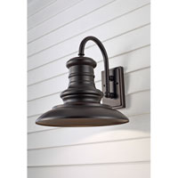 Feiss OL9004RSZ-L1 Redding Station LED 16 inch Restoration Bronze Outdoor Wall Lantern