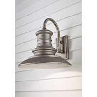Feiss OL9004TRD Redding Station 1 Light 16 inch Tarnished Outdoor Wall Sconce in Standard alternative photo thumbnail