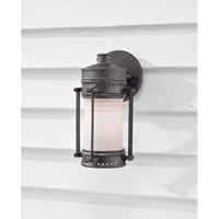 Feiss Dockyard 1 Light Outdoor Wall Sconce in Oil Can OL9100OLC alternative photo thumbnail