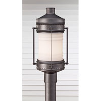Feiss Dockyard 1 Light Post Lantern in Oil Can OL9107OLC