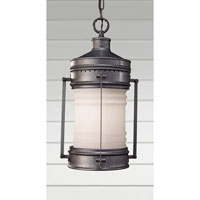 Feiss Dockyard 1 Light Outdoor Hanging Lantern in Oil Can OL9111OLC alternative photo thumbnail