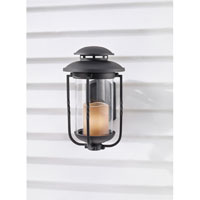 Feiss Menlo Park 1 Light Outdoor Wall Sconce in Textured Black OL9201TXB