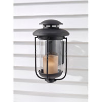 Feiss Menlo Park 1 Light Outdoor Wall Sconce in Textured Black OL9202TXB
