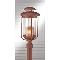 Feiss Menlo Park 1 Light Post Lantern in Cinnamon OL9208CN