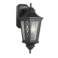 Feiss Wembley Park 3 Light Outdoor Lantern Wall Sconce in Textured Black OL9502TXB