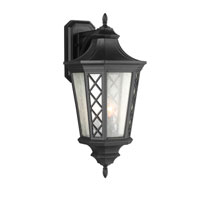 Feiss Wembley Park 3 Light Outdoor Lantern Wall Sconce in Textured Black OL9504TXB