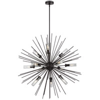 Feiss OLF3296/12ORB Hilo 36 inch Oil Rubbed Bronze Outdoor Chandelier photo thumbnail