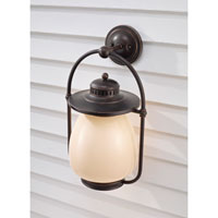 Feiss McCoy 1 Light Outdoor Wall Sconce in Grecian Bronze OLPL7404GBZ