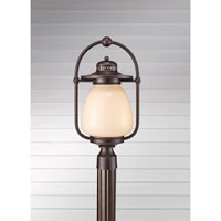 Feiss McCoy 1 Light Post Lantern in Grecian Bronze OLPL7408GBZ