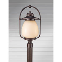 Feiss McCoy 1 Light Post Lantern in Grecian Bronze OLPL7508GBZ