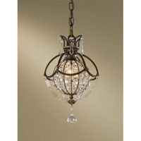 Feiss Bellini 1 Light Mini Pendant in Oxidized Bronze and British Bronze P1178OBZ/BRB