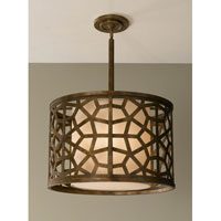 Feiss Medina 4 Light Pendant in Oxidized Bronze P1181OBZ