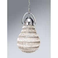 Feiss Wattson 1 Light Mini Pendant in Chrome P1274CH