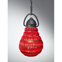 Feiss Wattson 1 Light Mini Pendant in Dark Bronze P1274DBZ
