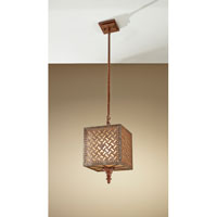 Feiss Kandira 1 Light Mini Pendant in Moroccan Bronze P1276MOB