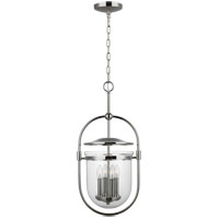 Feiss P1488PN Osborne 12 inch Polished Nickel Pendant Ceiling Light