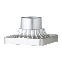 Feiss PIERMOUNT-PBS Signature 3 inch Painted Brushed Steel Pier Mount Base