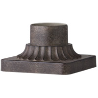 Feiss PIERMOUNT-WCT Signature 3 inch Weathered Chestnut Pier Mount Base
