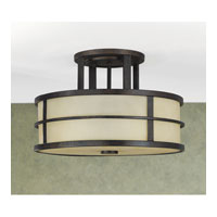 Feiss SF217GBZ Fusion 3 Light 14 inch Grecian Bronze Semi Flush Mount Ceiling Light in Standard alternative photo thumbnail