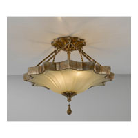 Feiss Astor 2 Light Semi Flush Mount in Oxidized Bronze SF269OBZ